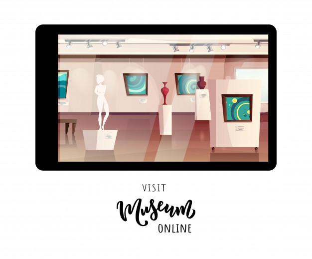 visit museum online